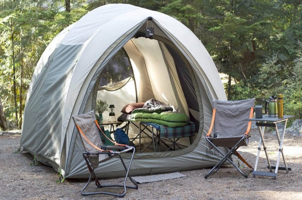How to Set Up Tent Cot