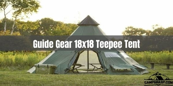 Guide Gear 18x18 Teepee Tent